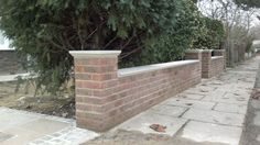 Front Garden Wall   Brickwork London   Brickwork London