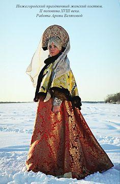 16th century Russian Kokoshnik