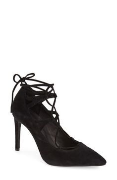 Jeffrey Campbell 'Brielle' Lace-Up Pump (Women) available at #Nordstrom