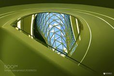 green and blue by kontrastlicht
