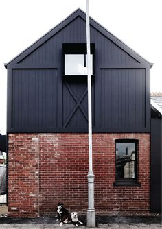 Built by Whiting Architects in Albert Park, Australia with date 2013. Images by Sharyn Cairns. Recognisable 'dignity-of-style' developed through familiar forms and archetypal elements.  A child's drawing of a hou...