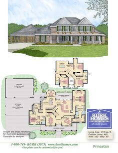 Kurk Homes | Featured Plans. I kinda like this for a 2 story