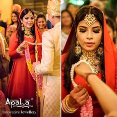 A unique wedding deserves unique jewellery! Meet our happy bride Rhea, in bespoke jewellery from @apalabysumitofficial aesthetically combined with an unconventional red anarkali gown.  #ApalaBride #ApalaBespokeBride #BridalJewellery #CustomJewellery #WeddingCollection #Customized #CustomMade #Jewellery #Brides #indianwedding #Bespoke #wedding #weddingseason #WeddingJewellery #BridalCollection #like #comment #repost #follow #doubletap #tag #tags #Ethnic