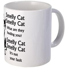 Smelly Cat Song Lyrics Mug $12.99 Who remembers this from F.R.I.E.N.D.S