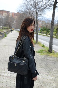 Longhette American Apparel  Chiodo Vintage  Bag Chanel