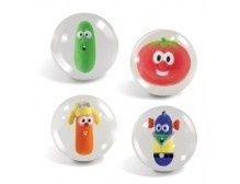 my kids would LOVE these.possible party favors School Birthday, 3rd Birthday Parties, Birthday Fun, Birthday Ideas, Kid Parties, Veggie Tales Birthday, Veggie Tales Party, Silly Songs With Larry, Bouncy Ball