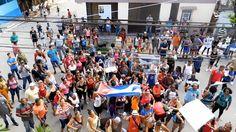 #Represión en #Cuba: Turbas castristas piden 'paredón' para las Damas de Blanco  [VÍDEO]
