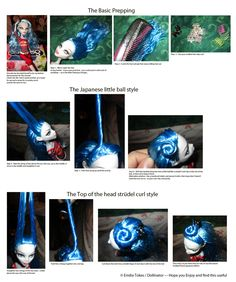 Monster High Hair Styling Tutorial by Dollinator on DeviantArt Doll Wigs, Ooak Dolls, Art Dolls, Barbie Dolls, Custom Monster High Dolls, Monster High Repaint, Custom Dolls, Doll Crafts, Diy Doll