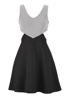 cut out dress with textured fabric (original price, $44) available at #Maurices