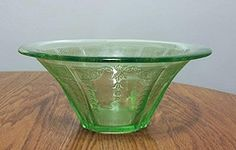 I like to collect depression glass, I find stuff on e-bay and by roaming second hand stores and antique fairs