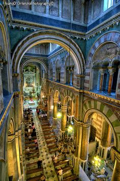Interior of the Cathedral of Altamura - Italy