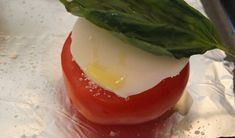 Baked Cheesy Tomatoes Recipe :: YummyMummyClub.ca