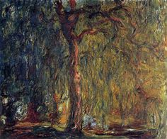 monet--weeping willow