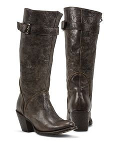 522d256b69494 Look at this Black Star Espresso Selena Leather Western Boot on today!