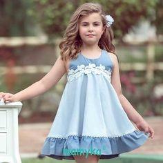 5329cf6fe 10 mejores imágenes de Vestidos para niñas en 2019 | Vestidos para ...