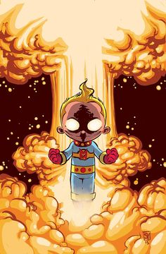 Miracleman: The Silver Age #3 variant covers Skottie Young *