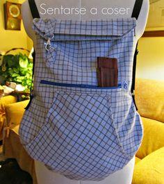 Sentarse a Coser: De mangas de camisa a mochila…, ¡lo más natural del mundo!