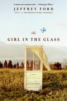 The girl in the glass by Jeffrey Ford. Click the cover image to check out or request the literary fiction kindle.