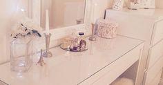 Dressing table shabby chic ikea malm … | Pinteres…