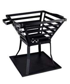 La Hacienda Steel Square Firebasket. Argos 290/4506 £19.99