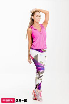 Colombian Workout Pants Body Shape Leggings Pilates Cross fit Fitness FIBER 28B