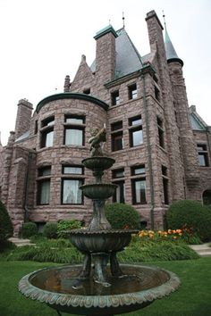 The Van Dusen Mansion in Minneapolis Former home of Horst Cosmetology School (Aveda)