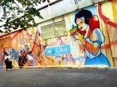 Speedy Graphito - Paris. Street Art - Graffiti - Urban culture.
