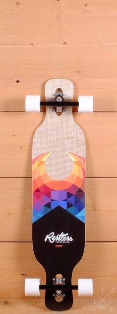 "Restless 39"" Shredder FiberLam Longboard"