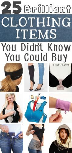 I want all of these! A great list of genius clothing items every girl should own.