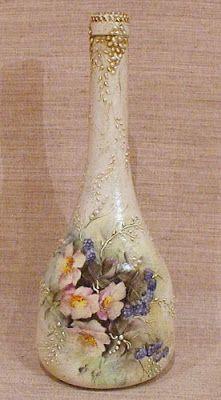 Decoupage U Edith ...: Bottle