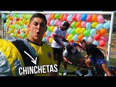 300 GLOBOS vs BALÓN CON CHINCHETAS - VER VÍDEO -> http://quehubocolombia.com/300-globos-vs-balon-con-chinchetas    ESTAMOS A NADA DEL MILLÓN!! ESPERO QUE OS GUSTE EL VÍDEO! ROBERT: KOKO:  Mi Instagram:  Instagram de Eric:  Seguidme en Twitter:  Seguidme en Facebook:  Seguidme en Twitch:...