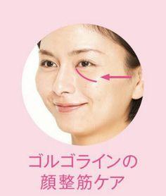 目の下に伸びる老けライン「ゴルゴライン」も消せる  WOMAN SMART NIKKEI STYLE