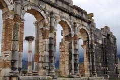 Volubilis, Roman ruins in Morocco