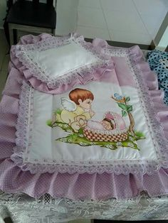 My diapers – Baby Utensils Ideas Designer Bed Sheets, Parents Room, Dolls Prams, Baby Nest, Baby Pillows, Hand Embroidery Designs, Fabric Covered, Fabric Painting, Baby Quilts