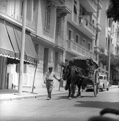 athens, greece may 1959 streetlif part of an archival project, featuring the photographs of nick dewolf My Athens, Athens Greece, Acropolis Greece, Greece History, Old City, Crete, Old Photos, The Past, To Go