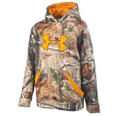 Under Armour® Boys' Hurlock Hoodie    my little country boy would love this