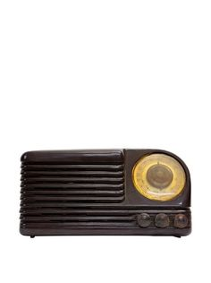 Vintage Olympic Radio, Dark Brown USA  1940 ($370.00)  $180.00 MY HABITAT