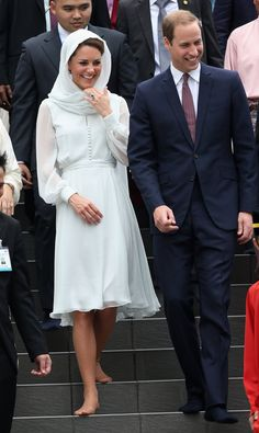 Kate Middleton and William visit Masjid Assyakirin, Malaysia