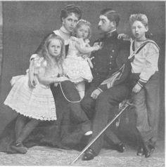 Marie and Ferdinand Elisabeth, Mignon, Carol Romanian Royal Family, Queen Victoria Family, Casa Real, Grand Duke, We Are Family, Royal House, Queen Mary, Royal Weddings, Ferdinand
