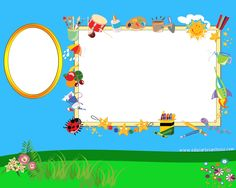 EduCarlosAntonio: Plantilla para foto grupal Blank Certificate, Foto Frame, Baby Frame, Borders For Paper, Holidays And Events, Event Decor, Diy And Crafts, Kindergarten, Preschool