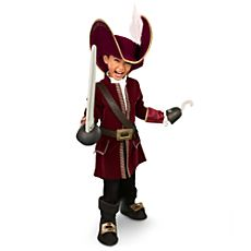 Captain Hook Costume Collection for Boys
