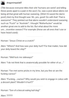 Humans Are Weird / Space Australia Cursing Pt1