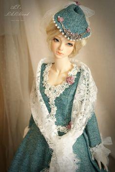 Soom Saiph Super Gem, dress made by me