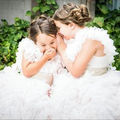 Sweet flower girls!