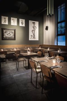 Some of street art's elite have served their time at riotous new Amsterdam street art restaurant De Bajes...