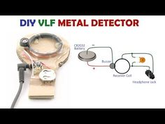 Diy Electronics, Electronics Projects, Radios, Metal Detector Reviews, How To Make Metal, Gold Detector, Small Drones, Robotics Projects, Electronic Schematics