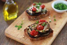 Pieczony bakłażan z pomidorami, na szybko | Bea w Kuchni