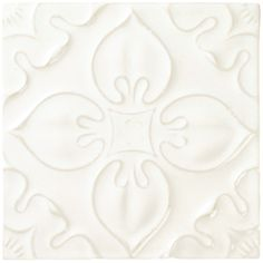 Helena Pearl - Glazed & Decorated - Shop by tile type - Wall & Floor Tiles | Fired Earth
