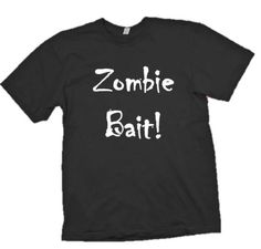 The Walking Dead Shirt Zombie Tee Zombie Bait