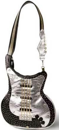 rock chick guitar bag. too cool not to share